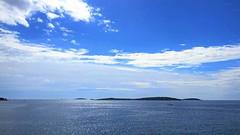 Sérénité (busylvie) Tags: extérieur ciel mer iles nuages blanc bleu immensité solitude primosten croatie
