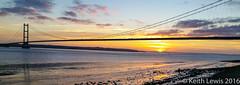 Last Nights Sunset (keithhull) Tags: humberbridge riverhumber sunset hessle phone