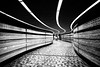 [STM_Series] : Square Victoria (s.W.s.) Tags: montreal quebec canada metro underground subway stm blackandwhite bw nikon d3300 city urban lines tunnel station lightroom indoor architecture