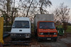 Renault Messenger - Mercedes Benz T1 (Andrea the sleeper) Tags: trafic tn tnt1 t2 vario camion truck