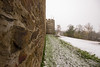 castle wall (Jules Marco) Tags: stadtmauer castlewall rockwall wall schnee snow turm tower zinnen battlements canon eos600d waldviertel woodquarter wideanglelens weitwinkel sigma1020mmf35exdchsm eggenburg österreich austria winter dof depthoffield