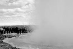 KLIS4216_S1 (Konrad Lembcke) Tags: geysir iceland island monochrome black white fuji x travel