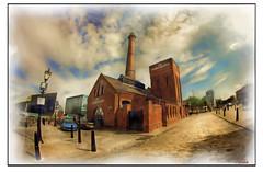 PUMP HOUSE 2 (Derek Hyamson (5 Million views)) Tags: pumphouse hdr impression albertdock liverpool