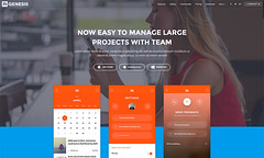 demo-09 (R_GENESIS) Tags: app landing page rgen applead themeforest premium marketing showcase