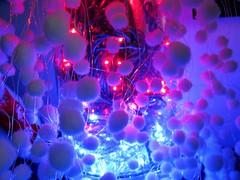 Christmas Dreams (Heaven`s Gate (John)) Tags: christmas lights blue pink white balls cotton wool johndalkin heavensgatejohn merrychristmas happychristmas seasonsgreetings atmosphere led dream dreams england