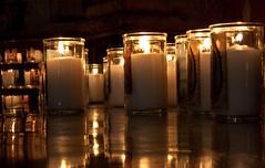 candles at san xavier (James Gordon Patterson) Tags: arizona tucson sanxavierdelbac whitedoveofthedesert
