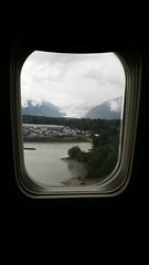 Coming in to Juneau