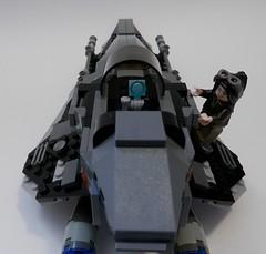 Delta 6 Rear Cockpit (jgg3210) Tags: yards 6 drive starwars ranger lego space delta systems jedi fleet universe sfs obsidian kdy kuat expanded starfighter sienar veraskye