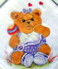 SAM_4627 (patriciaangelo2014) Tags: de pano em rosas prato copa pintura tecido girassol fralda