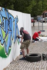 SALALACALLE FESTIVAL ARTE CALLE (3) (Ayuntamiento de Fuenlabrada) Tags: festival graffiti mural arte manuel urbano robles guerrilla ayuntamiento fuenlabrada exposicin alcalde actividad salalacalle