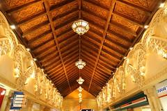 Artsy ceiling (Rahul Gaywala) Tags: design construction islam culture arab ibn batuta battuta