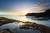 Seseh Beach, Canggu - Bali. (Ricky Nugraha) Tags: sunset indonesia landscape slowshutter canon5d pantai canggu berawa pantaiseseh batukarang mengening sesehbeach