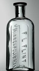 F.L.FLINT, MINNEAPOLIS, KS (Ks Ed) Tags: old glass vintage store bottle antique ks minneapolis drug kansas medicine dug flint find excavated