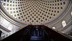 stairway to (heaven) pulpit (tor-falke) Tags: church europa europe sony kirche malta architektur rotunda bauwerk église mosta sonyalpha alpha200 torfalke flickrtorfalke alpha200230 rotundesantamarijaassunta