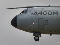 "A400M Airbus EC-402 msn 002 ""500th flight"" sticker (Mav'31) Tags: airport aircraft aviation airbus msn toulouse blagnac spotting 002 tls aroport a400m lfbo d5100 ec402"