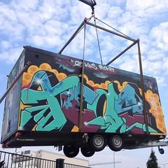 Supafly! Lentävä katutaidevaunu! #helgraffiti #graffiti #fly #yolo #seksihelle #katsokuvat #wau #näinsehommamenee #manee #superia #mahtavuutta #lennokkuutta