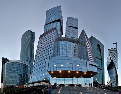 Москва-Сити / Moscow-City ©  ruscow