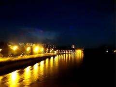 Night Lights (VampireBassist) Tags: lights canal bokeh verona ilobsterit