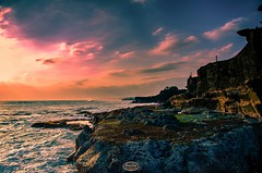 DSC_3393-FL (j i m m y_t a m p) Tags: sunset sea sky bali cloud rock landscape nikon tanahlot nikon1755 traveldestination nikon1755mmf28 d7000 nikond7000
