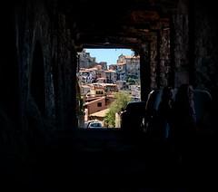 [ Paesaggio urbano, Galleria a Scilla - Urban landscape, gallery in Scylla ] DSC_0592.3.jinkoll (jinkoll) Tags: life houses urban gallery tunnel calabria scylla