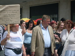 "MP Oliver Colvile Joins the Pride Parade • <a style=""font-size:0.8em;"" href=""https://www.flickr.com/photos/66700933@N06/14689876730/"" target=""_blank"">View on Flickr</a>"