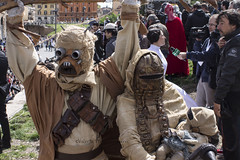 Star Wars Day 2014 (-valeria16) Tags: italy rome roma star george starwars italia day princess cosplay away lord lucas colosseum galaxy darth wars vader clone far legion leia colosseo tatooine 501 2014 starwarsday principessa fener cloni