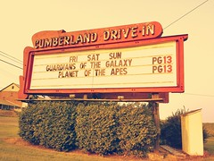 Support Your Local Drive-In! (trainmann1) Tags: red sun green classic grass sign advertising fun bush pennsylvania antique films letters cellphone cell samsung drivein pa galaxy planetoftheapes movies sat amateur cumberland s4 fri pg13 newville guardiansofthegalaxy cumberlanddrivein galaxys4 newvilledrivein