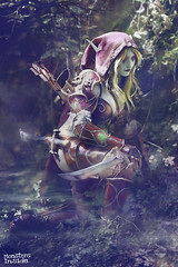 Following the Trail (Monsters Inside) Tags: wow cosplay worldofwarcraft windrunner sylvanas warcraftcosplay sylvanascosplay