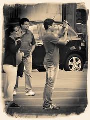 """DSC1 (33) (El Diañu Burlon-Virados """"Arrobarroba"""") Tags: españa blancoynegro gijón streetphotography asturias virados principadodeasturias sonydschx50v eldiañuburlón"""