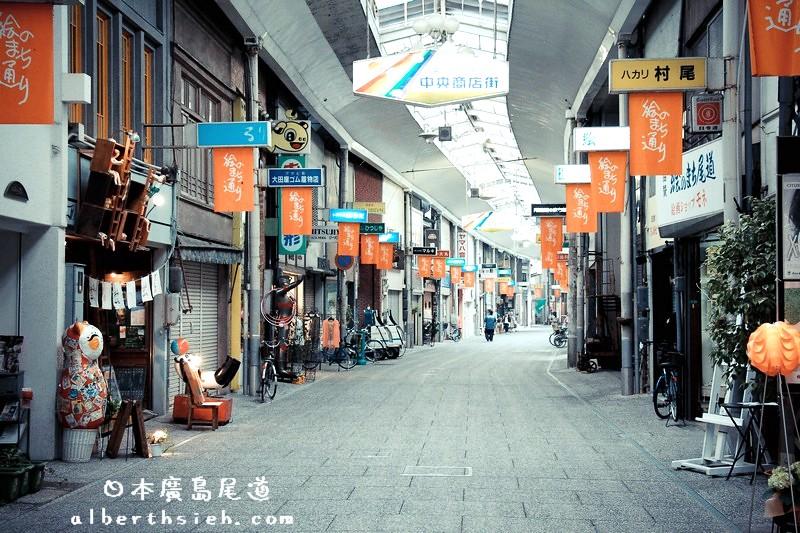 廣島尾道景點.城市散策(步調緩慢類似九份是個很有味道的靠海城鎮)