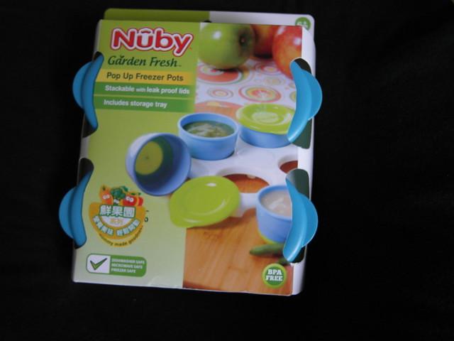副食品冷凍儲存盒@Nuby 鮮果園系列副食品工具