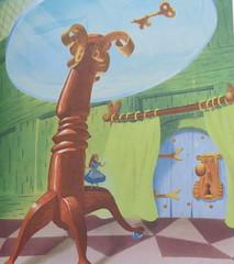 (5) Drink Me (Foxy Belle) Tags: illustration vintage book golden alice disney wonderland 1951 2010