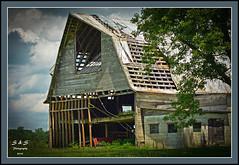 Union County Barn  32 (Steve Stambaugh Jr.) Tags: sky barn photography nikon vibrant country rustic vivid elements lightroom d5200