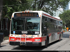 Toronto Transit Commission #1586 (vb5215's Transportation Gallery) Tags: toronto ttc transit orion ng 2008 commission vii hev