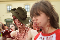 dead mans wish (Gveronis) Tags: man dead prague zombie walk group praha zombiewalk
