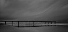 20140808_1750_1D3-24 Deserted Pier [Explored] (johnstewartnz) Tags: canon eos 1dmarkiii 1d3 1dmark3 24105mm 24105 pier newbrighton newbrightonpier silvereffectspro blackandwhite bw monochrome explore explored flickrexplore canonef24105mmf4lisusm unlimitedphotos inexplore