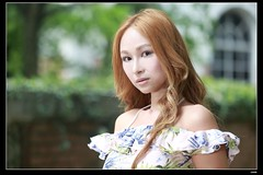 nEO_IMG_DP1U6546 (c0466art) Tags: light portrait girl beautiful female canon hair golden asia pretty outdoor gorgeous taiwan straight charming hight nodr 1dx lo0ng c0466art
