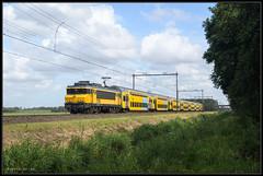 29-08-2014, Haarlemmerliede, NSR 1736 + DDM-1 6907 (Koen langs de baan) Tags: