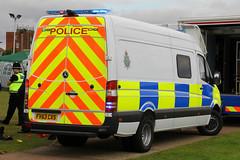 Lincolnshire Police Mercedes Sprinter Public Order Van (PFB-999) Tags: new public mercedes order pov police lincolnshire vehicle leds van grilles psu unit skegness sprinter lightbar lincs constabulary fendoffs fv63czs