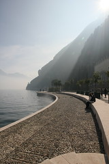 Riva del Garda (vmakovetsky) Tags: sky italy lake canon lago island garda heaven italia ppb080
