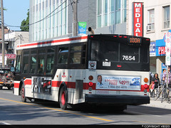 Toronto Transit Commission #7654 (vb5215's Transportation Gallery) Tags: 2005 toronto ttc transit orion commission vii