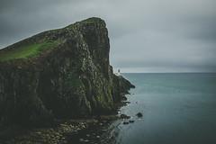 * (Greatbigwhale) Tags: ocean blue sky lighthouse skye green water 35mm prime fuji vignetting vignette impression sotland 100s x100 100a inspiredbylove 23mm festbrennweite primelense fujix100s x100s