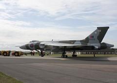 "Avro Vulcan B2 XH558 (mark_fr) Tags: sky force air royal lincolnshire lincoln lancaster b2 vulcan meet finest raf avro pave waddington lincs xh558 pa474 avros kb726 cgvra gvlcn ""vera"""