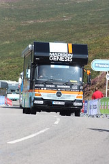 TOUR OF BRITAIN 2014 (RAY TYLER IMAGES) Tags: race truck mercedes cycling cyclist cycle vehicle shimano friendslife madisongenesis tourofbritain2014