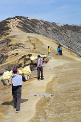 Ijen tourists