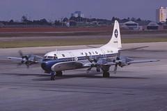VARIG Varig Lockheed L-188A Electra; PP-VJW@CGH, December 1978 (Aero Icarus) Tags: plane aircraft flugzeug avion slidescan