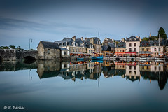 Reflets  Saint Goustan (patrice.baissac) Tags: port brittany harbour bretagne soire soir morbihan auray saintgoustan