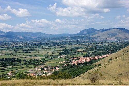 Panorama dalla Madonna di Pietracquaria