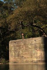 Infanteriebunker A5467 Dachsen Nord ( Militrbunker - Bunker )  der Sperre - Sperrstelle Laufen - Uhwiesen ( Rheinsperre ) der Grenzbrigade 6 aus dem zweiten Weltkrieg am Ufer des Rhein ( Hochrhein ) ob der B.adi Dachsen im Kanton Zrich in der Schweiz (chrchr_75) Tags: chriguhurnibluemailch christoph hurni schweiz suisse switzerland svizzera suissa swiss chrchr chrchr75 chrigu chriguhurni 1409 september 2014 hurni140916 september2014 sammlungkleinesstachelschwein kleinesstachelschwein albumkleinesstachelschweingrenzbrigade6 grenzbrigade6 landesverteidigung rhein rhin reno rijn rhenus rhine rin strom europa albumrhein fluss river joki rivire fiume  rivier rzeka rio flod ro