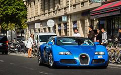 Grand Sport (ExoticCarsParis) Tags: blue paris sport sony grand arab bugatti supercar veyron hypercar